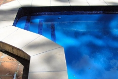 Pools painted with  Royal Blue - Pacific colour