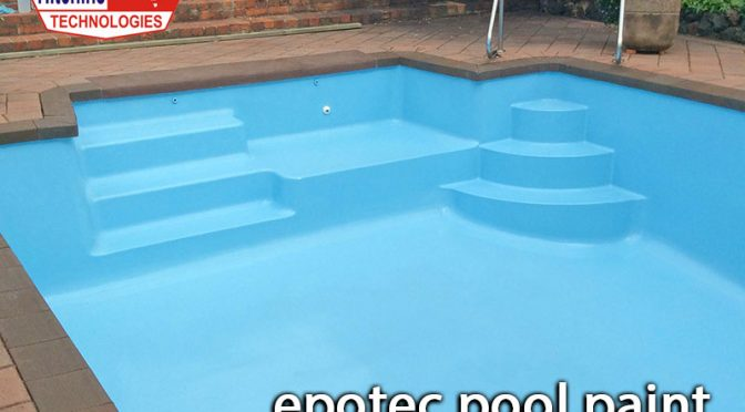 Facts about application of epotec pool paint