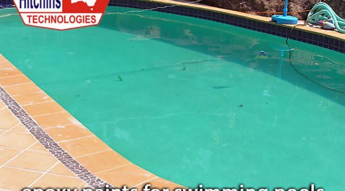 Various features of epoxy paints for swimming pools