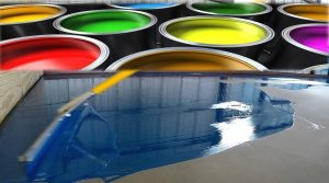 epoxy paint color